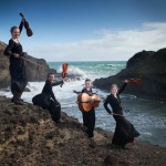 Faust Quartet at the beach