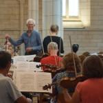 Brahms Reheasal Michael McClennan