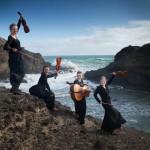 Faust Quartet at the beach